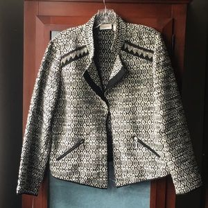 Chico's Blazer with Chain Detail
